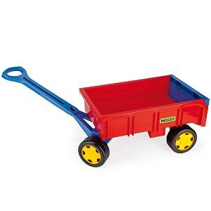 Wader - Handwagen rot/gelb/blau
