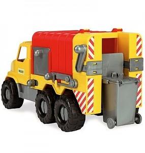 Wader 46cm toy truck garbage truck toy car sand truck garbage truck truck
