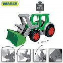 XXL gigant tractor 60cm Trekker with front loader excavator arm seat excavator 100kg wader