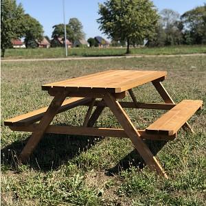 Picnic bench 175 x 154 x 74 cm
