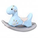Rocking Horse Dino - Blue