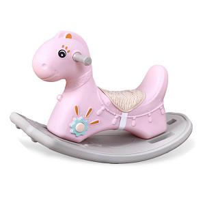 Rocking Horse Dino - Pink