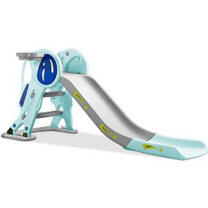 Astronaut children's slide - blue