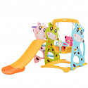 Toddler Combination with Swing and Slide Cow - Multicolor