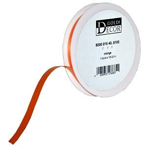 Kräuselband glatt orange 15mm breit Geschenkband Dekoration Geschenke verpacken