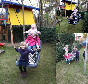multi child swing challenger