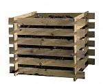 Wooden Garden Composter 100x100x70cm