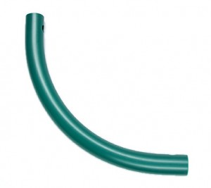 Moveandstic curved tube, green