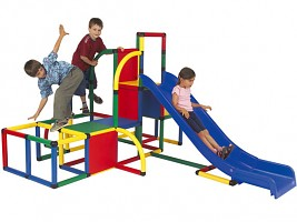 Moveandstic Set with a Slide